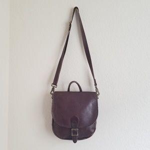 Vintage HOBO INTERNATIONAL Leather Saddlebag